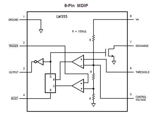 Full bridge cl d amp using 555 timer – Geek Circuits on