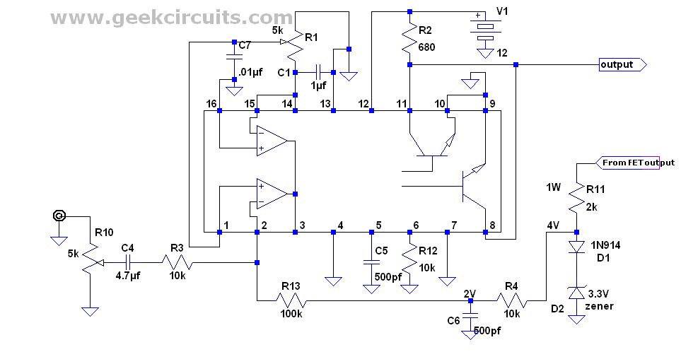 Diseño Electrónico: Amplificador de Audio Clase de D con el TL494 o