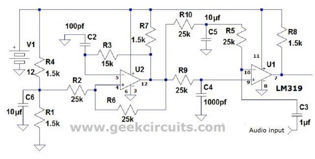 LM319 PWM circuit